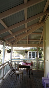 Qld veranda construction